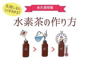 水素茶の作り方還元くんの使い方