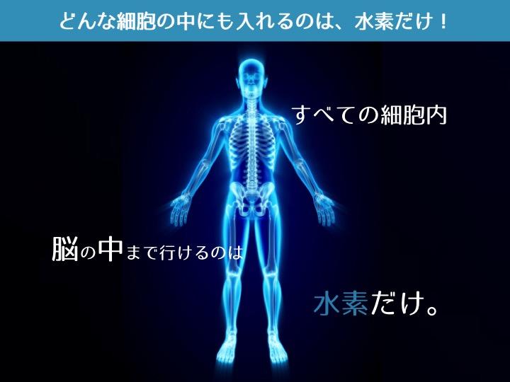 水素は宇宙で一番小さい抗酸化物質